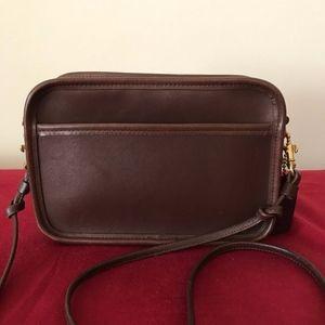 Vintage Coach Carnival Leather Crossbody #9925